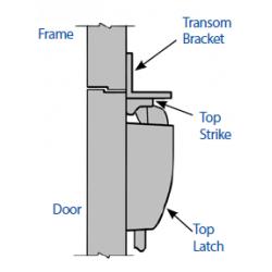 Precision TMB453 Apex & Olympian Transom Bracket
