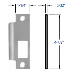 Precision S98_ Strike for Mortise Devices