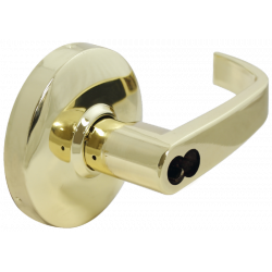 Cal-Royal ICSCCSPA Genesys Series Heavy Duty Cylindrical Leverset w/ Clutch LFIC for Schlage, Grade 1