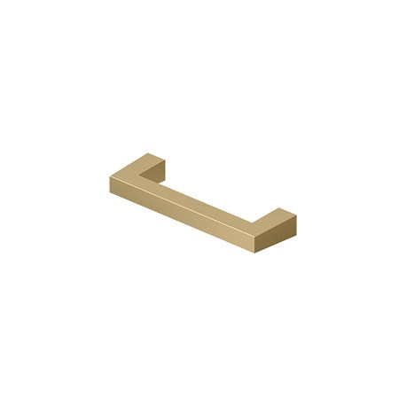 Deltana SBP Modern Square Bar Pull, Solid Brass Material