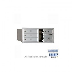 "Salsbury 4C Horizontal Mailbox Unit (13"") - Single Column - 1 MB1 Door"