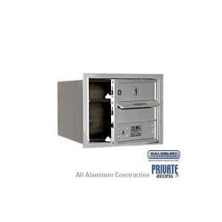 """Salsbury 4C Horizontal Mailbox - 3 Door High Unit (13"""") - Single Column - 1 MB1 Door"""