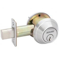 Schlage B664P Grade 1 Cylinder Lock Deadbolt