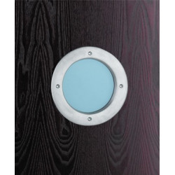 Philip Watts Midi Style Aluminum Porthole Kit for 35mm/45mm Doors