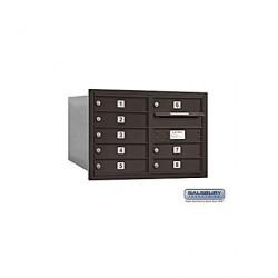 "Salsbury 4C Horizontal Mailbox Unit (20"") - Double Column - 8 MB1 Doors"