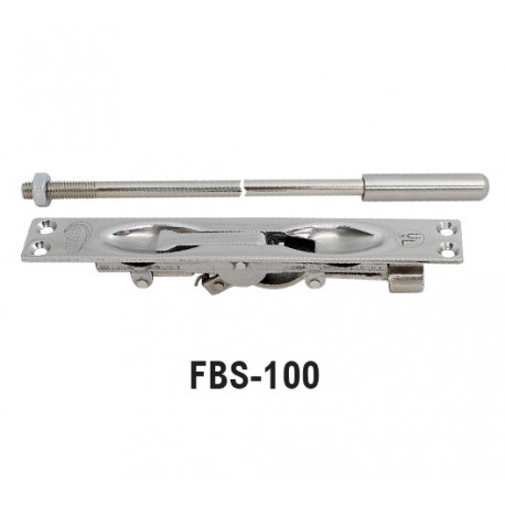 Ives 265 Flush bolt nickle TWO 2