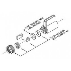 Olympus 78-KABA-CONV Conversion Kit for KABA Cylinders
