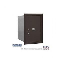 "Salsbury 4C Horizontal Mailbox Unit (23-1/2"") - Single Column - 1 MB4 Door"