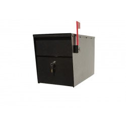 QualArc LSLM LetterSentry Locking Mailbox, Post