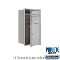 "Salsbury 4C Horizontal Mailbox Unit (30-1/2"") - Single Column - 1 MB1 Door / 1PL5"