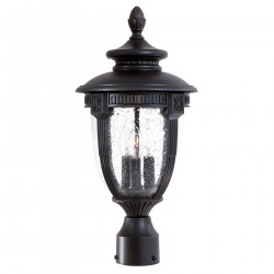QualArc 8956-MN94 Hardwire Decorative Outdoor Electric Post Light ONLY