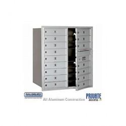 "Salsbury 4C Horizontal Mailbox Unit (34"") - Double Column - 16 MB1 Doors"