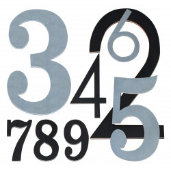 QualArc Plasma Cut Aluminum Numbers