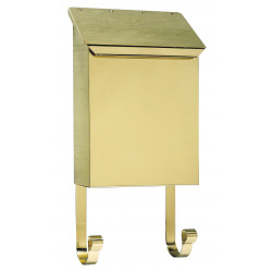 QualArc MB-400 Provincial (Vertical) Mailbox with Hooks