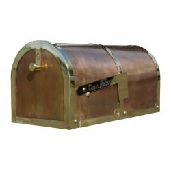 QualArc MB-3000 Provincial Brass Mailbox