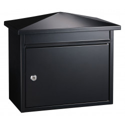 QualArc WF-PM14 Winfield Summit Locking Mailbox, Black Color
