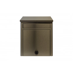 QualArc WF-WL15205 Winfield Kalos Stainless Steel Wall Mounted Mailbox