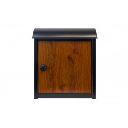 QualArc WF-W1701BK Winfield Leece Wall Mounted Mailbox