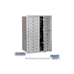 "Salsbury 4C Horizontal Mailbox Unit (41"") - Double Column - 19 MB1 Doors"