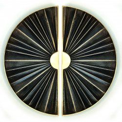 Philip Watts Sunburst (300mm) Medium Door Handle
