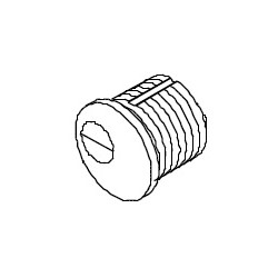 "DCI MC Standard Yale ""A"" Cam Mortise Cylinder"