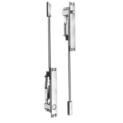 DCI T845 Trim Package for Self-Latching Flush Bolt & Bottom Automatic Flush Bolt for Metal Doors