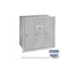 Salsbury Vertical Mailbox - 3 Doors