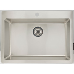 American Imaginations AI-27691 32-in. W CSA Approved Chrome Kitchen Sink With Stainless Steel Finish And 18 Gauge