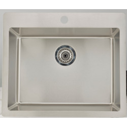 American Imaginations AI-27692 27.75-in. W CSA Approved Chrome Kitchen Sink With Stainless Steel Finish And 18 Gauge