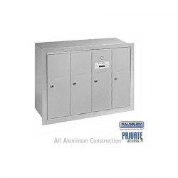 Salsbury Vertical Mailbox - 4 Doors