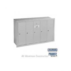 Salsbury Vertical Mailbox - 5 Doors