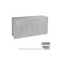 Salsbury Vertical Mailbox - 6 Doors
