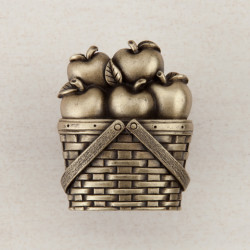 "Acorn DQA Apple Basket Cabinet Knob 1-1/2"" x 1-1/4"""