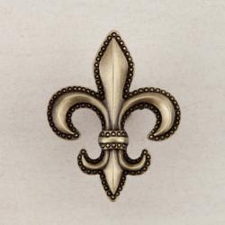 """Acorn DQD Fleur-De-Lis Cabinet Knob 1-5/8"""" x 1-5/8"""""""