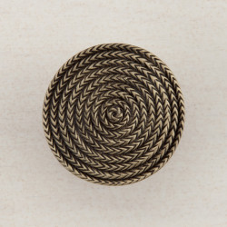 "Acorn DQH Rope Circle Cabinet Knob 1-1/2"" x 1-1/2"""