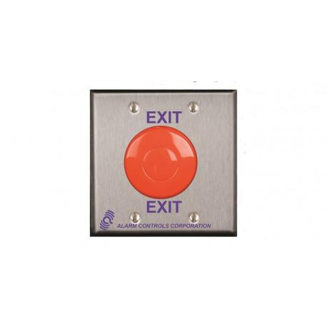 Alarm Controls Push Buttons Double