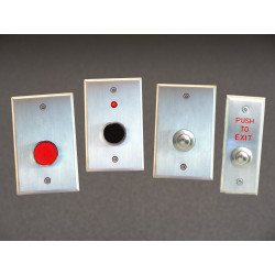 "Dortronics 5276 Series Guarded 1"" Push Buttons"