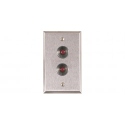 Alarm Controls Remote Station Plates RP-27