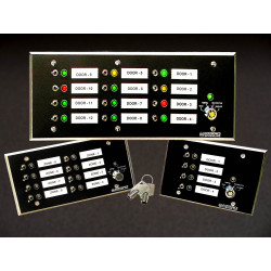 Dortronics 7600 Series Multi-zone Annunciators/Controllers
