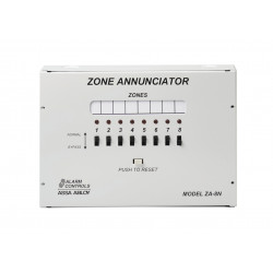 Alarm Controls Eight Zone Annunciator ZA-8N