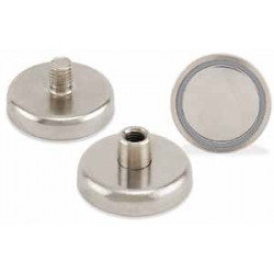 Magnet Source NACF/ NACM Threaded Round Base Neodymium Magnet