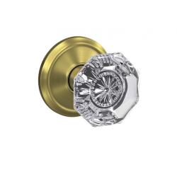 Schlage FC Custom Alexandria Glass Knob