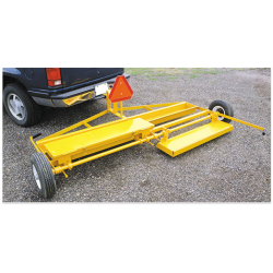 Magnet Source MRS100 Series Magnetic Trailer-Type Sweeper
