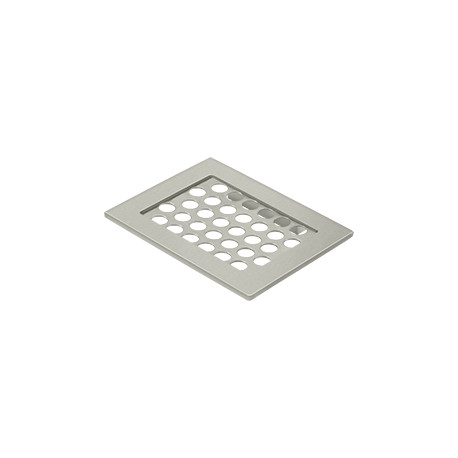 "Deltana WBHDSD55 Bathroom Basket HD Soap Dish 4-3/8""x 5-1/2"""