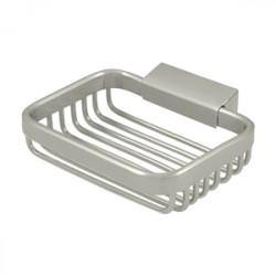 "Deltana WBR4535 Wire Basket, 4 3/4"" Rectangular Soap Holder"