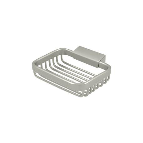 "Deltana WBR4535 Wire Basket, 4 3/4"" Rectangular Soap Holder"