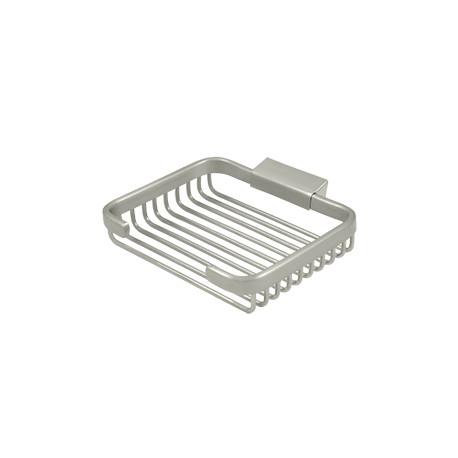 "Deltana WBR6050 Wire Basket, 6"" Eectangular Soap Holder"