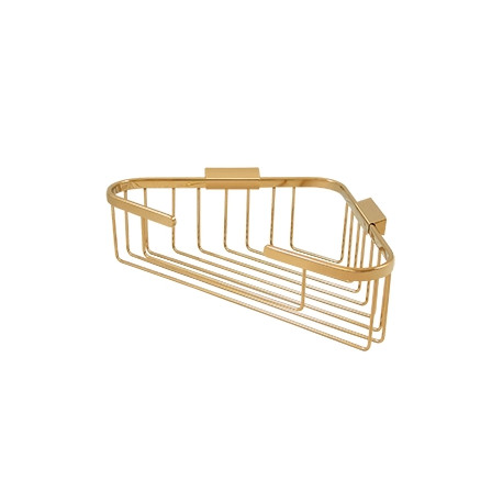"""Deltana WBC1310 Wire Basket, 13-1/4"""" x 10-1/4"""" Triangular Corner"""