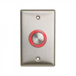 Camden CM-9600/9610 Series Illuminated Piezo Electric Push/Exit Switch Single Gang Faceplate