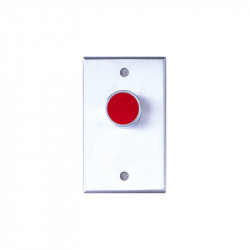 Camden CM-8000/8100 Series Medium Duty Push/Exit Switch with (Extended Button) Single Gang Faceplate